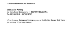 Castagnaro Parking Area Sosta 2019